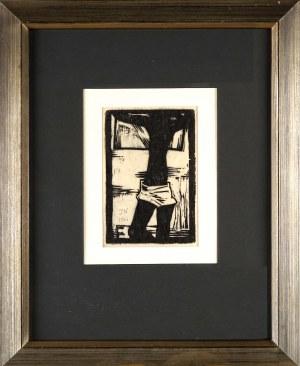 Jerzy Nowosielski (1923 Kraków - 2011 Kraków), Kompozycja figuralna, 1960