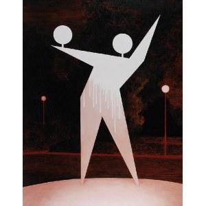 Andrzej TOBIS (ur. 1970), Figura parkowo-geometryczna, 2013