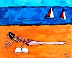 Małgorzata Stępniak, Plaża, 2020