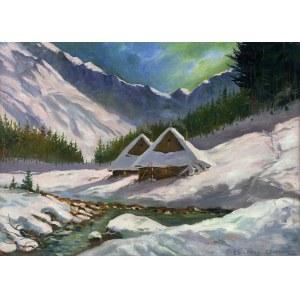 Leszek Stańko (1924-2011), Chaty w górach, 2001