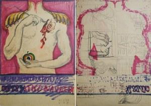 """Franciszek STAROWIEYSKI (1930-2009), Projekt plakatu do filmu w reżyserii Andrzeja Wajdy """"Wszystko na sprzedaż"""""""