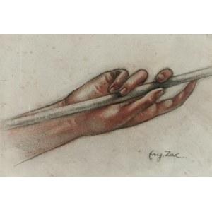 Eugeniusz ZAK (1884-1926), Studium dłoni