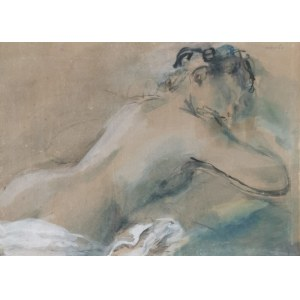 Rajmund KANELBA (1897-1960), Akt kobiety - Śpiąca