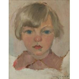 Jan GĄSIENICA-SZOSTAK (1895-1943), Portret córeczki, 1929