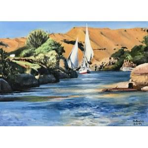 Piotr Gola, Egipt-łodzie