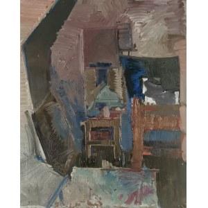 Jacek SIENICKI (1928-2000), Wnętrze pracowni