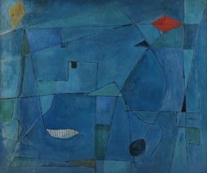 Roman ARTYMOWSKI (1919-1993), Pejzaż z latawcami, 1956