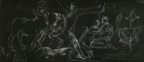 Franciszek STAROWIEYSKI (1930-2009), Wzloty ukrzyżowanych, 1991
