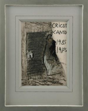 """Tadeusz KANTOR (1915-1990), Projekt plakatu do przedstawienia """"Umarła klasa"""" na dziesięciolecie spektaklu, 1985"""