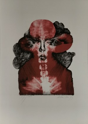 Jan LEBENSTEIN (1930-1999), Bez tytułu, 1973