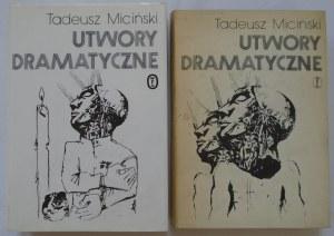 Miciński Tadeusz • Utwory dramatyczne [komplet]