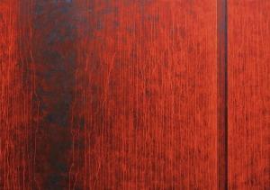 Tomasz Mistak, Corten steel plate No.7, 2015