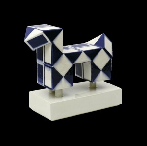 Mariusz Dydo, Rubik's dog III z cyklu Rubik's zoo | Rubik's dog III, from the cycle: Rubik's zoo | 2015