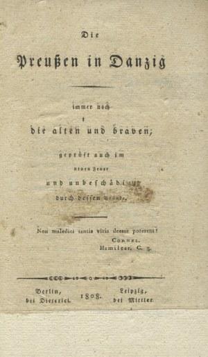 DIE Preussen in Danzig: immer noch die alten und braven...
