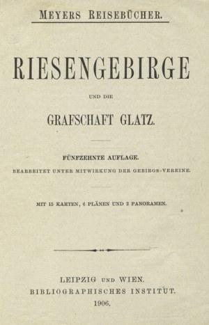 [KARKONOSZE] Riesengebirge und die Grafschaft Glatz. 15. Aufl...