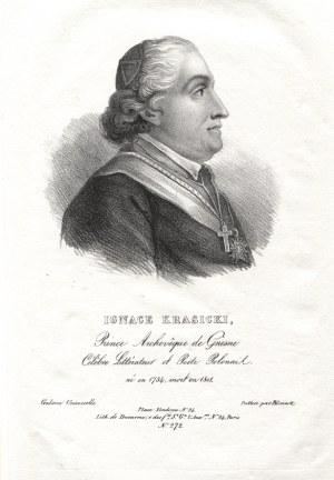 """[KRASICKI, Ignacy] """"Ignace Krasicki, Prince Archeveque de Gnesne Célebre Littérateur et Poëte Polonais..."""