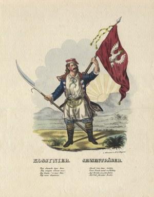 "DIETLAB, Dieter (XIX w.) - ""Kossynier = Sensenträger"". [1831?], w Warszawie u K. I. Magnus..."