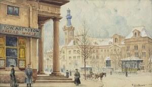 Cieślewski Tadeusz, PLAC TEATRALNY, 1910