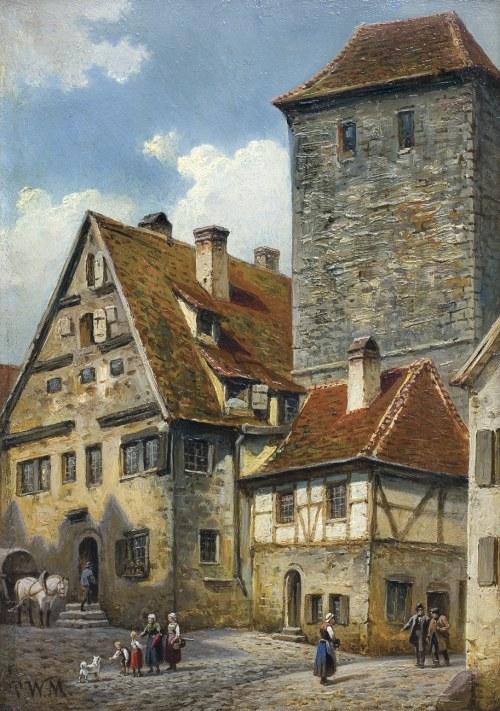 Meyerheim Paul Wilhelm, DOMY W ROTHENBURGU