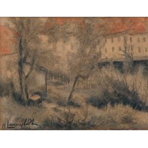 Lewensztadt Henryk, OGRÓD, 1947