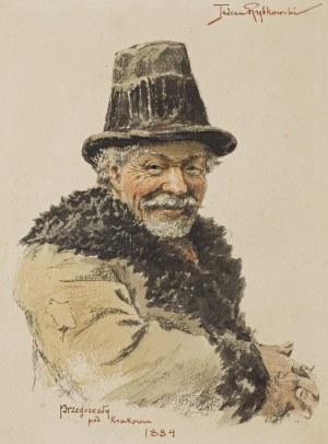 Rybkowski Tadeusz, PORTRET MĘSKI, 1884