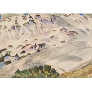 Rafał Malczewski (1892 Kraków - 1965 Montreal), Zaśnieżone góry