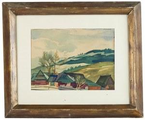 Zofia Stryjeńska (1891 Kraków - 1976 Genewa), Pejzaż górski