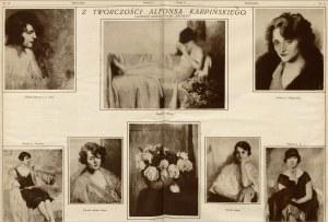 Alfons Karpiński (1875 Rozwadów - 1961 Kraków), Manicure, 1921 r.