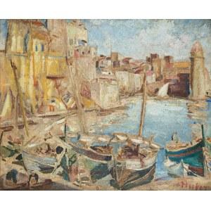 Mela Muter (1876 Warszawa - 1967 Paryż), Port w Collioure, lata 20-te XX w.
