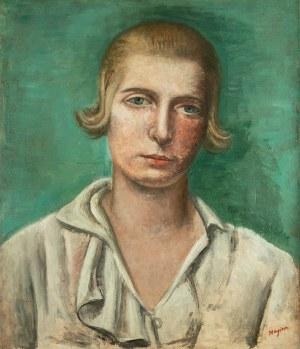 Henryk Hayden (1883 Warszawa - 1970 Paryż), Portret Renee Hayden (pierwszej żony artysty), 1922 r.