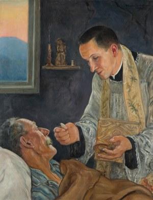 Wlastimil Hofman (1881 Praga - 1970 Szklarska Poręba), Chleb żywota, 1953 r.