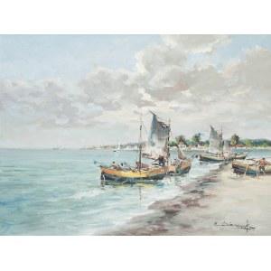 Eugeniusz Dzierzencki (1905 Warszawa - 1990 Sopot), W zatoce