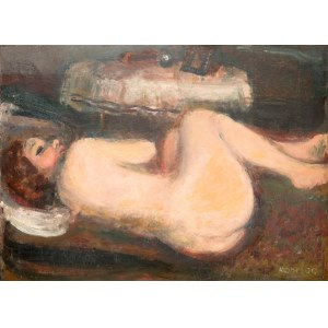 Rajmund Kanelba (1897 Warszawa - 1960 Londyn), Akt kobiety, 1930 r.