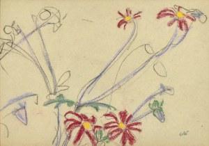 Wojciech Weiss (1875-1950), Kwiaty ogrodowe