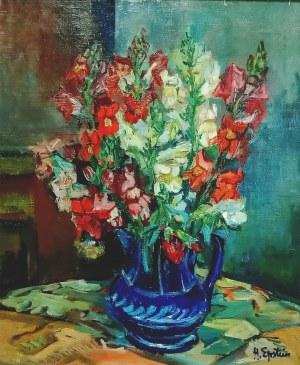 Henryk Epstein (1892-1944), Kwiaty w wazonie