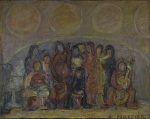Krystyna Pelletier (1914-2007), Muzykanci, 1995