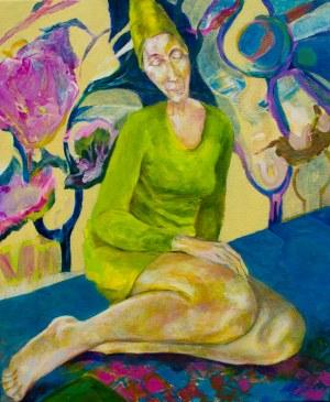 Małgorzata Fenrych, W ogrodzie, 2020