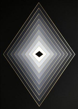 Izabela Kozłowska, Gray rhombus, 2020