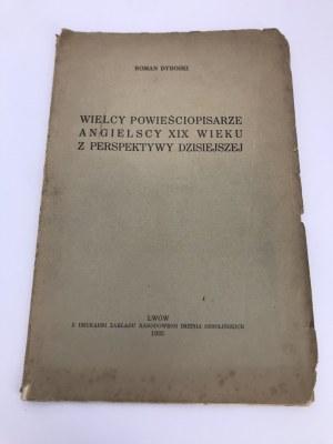 Dybowski Roman Wielcy powieściopisarze angielscy XIX wieku...