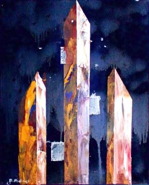 Bernard Pietraga, Obelisks, 2018