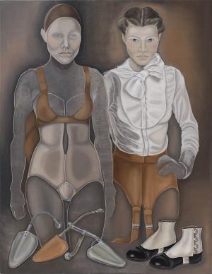 Dorota Kuźnik, Z cyklu Współczesne madonny, 2014