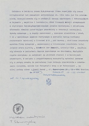 Franciszek Starowieyski (1930-2009), Szkic nr 1