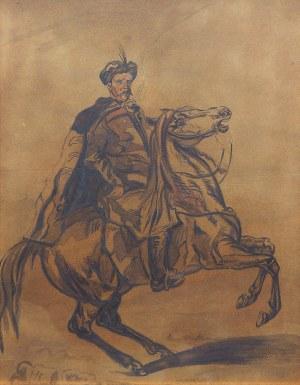 Piotr Michałowski (1800 Kraków – 1855 Krzyżtoporzyce), Jeździec polski