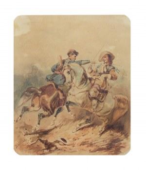Henryk Pillati (1832-1894), Pojedynek, 1856