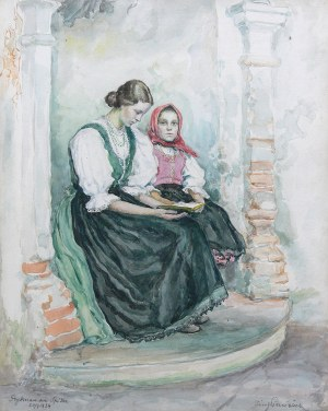 Józef Pieniążek (1888 Pychowice -1953 Kraków), Kobiety ze Spisza, 1934