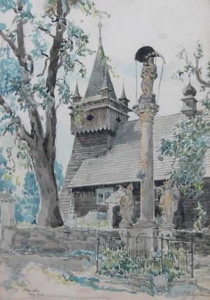 Józef Pieniążek (1888 Pychowice -1953 Kraków), Pejzaż z Orawki, 1928
