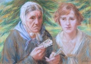 Józef Szczęsny (1885 Rybitwy – 1968 Natolin), Wróżba