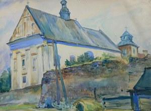 Stanisław Prauss (1903 Kielce-1997 tamże), Kościół reformatów w Kazimierzu nad Wisłą