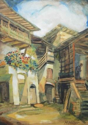 Artysta nieokreślony (1 poł. XX w.), Podwórko