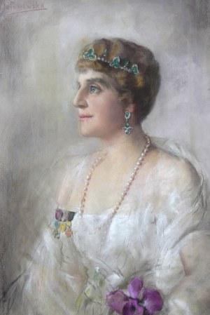Jadwiga Matawowska (1874-1963), Portret arystokratki